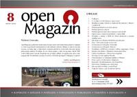 Titulní strana openMagazinu 08/2010