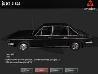 Jedným z áut na stiahnutie je aj stará Tatra