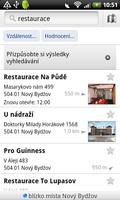 Google Maps v našem okolí dokáže hledat například restaurace