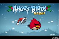 Vánoční edice Angry Birds
