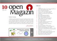 Titulní strana openMagazinu 10/2010