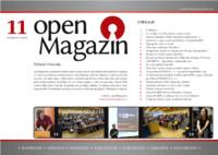 Titulní strana openMagazinu 11/2010