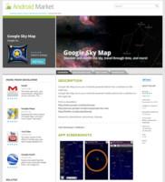 Detail aplikace ve webovém Android Marketu