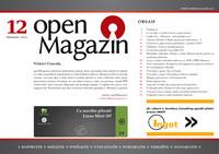 Titulní strana openMagazinu 12/2010
