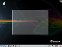 Mandriva Linux 2009 nainstalovaný na počítači