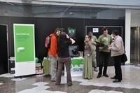 Jediné openSUSE mělo stánek naproti osttaním, takže měli soukromí a prostor