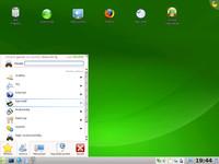 Grafické prostředí KDE v distribuci OpenSuSE 11
