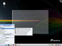 Grafické prostředí KDE v distribuci Mandriva Linux 2009
