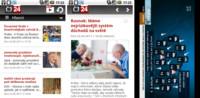 ČT24 a ČT 4 můžete sledovat i z mobilu
