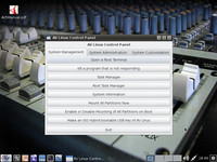 AV Linux Control Panel – System Management