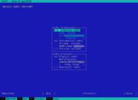 Dělení disku – Formátování – textový režim