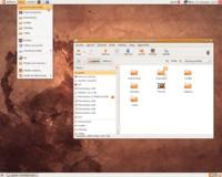 Domovská složka v distribuci Ubuntu 8.10 Intrepid Ibex