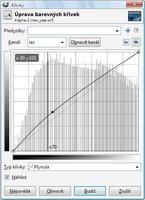 Konečná úprava tónové křivky