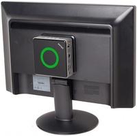 ZBOX Nano přidělané na LCD obrazovku