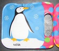 Kniha obsahuje tučňáka