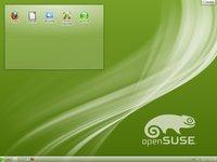 Stejně jako jiné distribuce je openSUSE 12.1 laděné do zelena. Není ale problém vzhled distribuce upravit k obrazu svému