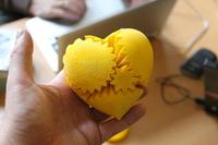 Mechanické srdce vytištěné na 3D tiskárně