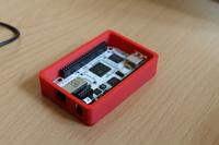 BeagleBone v pouzdře vytištěném přímo na místě 3D tiskárnou