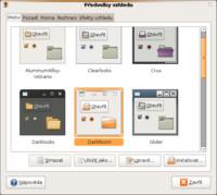 Nástroj pro úpravu vzhledu v Ubuntu 8.10