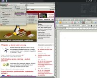 Jednoduše úžasný vzhled aplikací v Crunchbang Linux