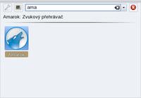 Dialog [Alt+F2] a vyhledání aplikace