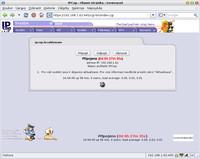 Úvodní obrazovka IPCopu