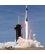 Start rakety Falcon 9 s pilotovanou lodí Crew Dragon