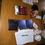 CD s Ubuntu, nálepky a pivo
